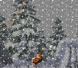 Donkey Kong Country - Donkey Kong Toboggan (Glitch) - User Screenshot